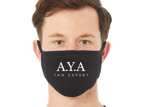 La marque A.Y.A Tan Expert confie à Génération Custom la réalisation de ses masques réutilisable