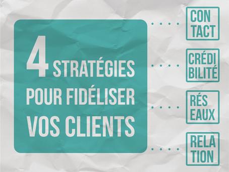 4 stratégies pour fidéliser vos clients