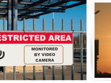 Construction Site Security and Surveillance - a real problem in 2021