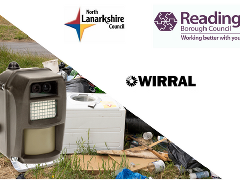 Smart Wireless Camera's Zoom In On Fly Tippers For Local Authorities