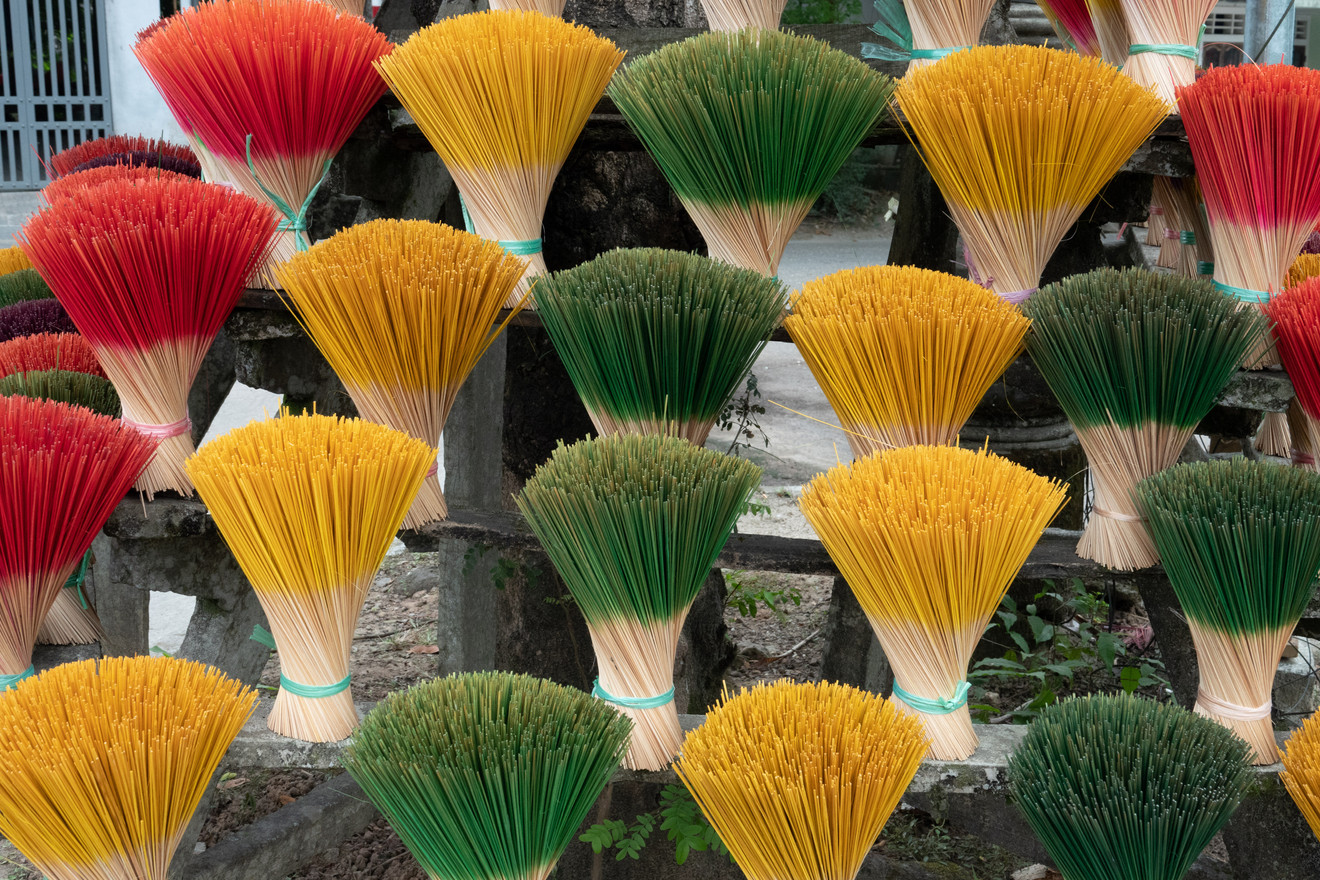 Bouquets of Incense