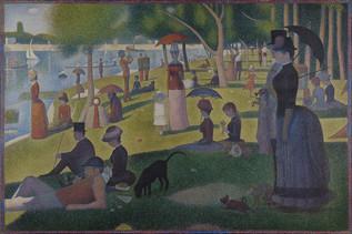 Georges-Pierre Seurat – Vasárnap délután a Grand Jatte szigetén