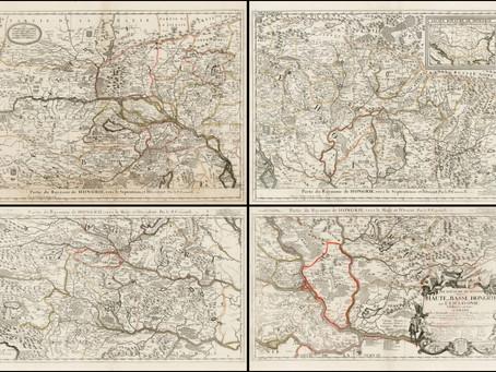 Hogyan ábrázolták Magyarországot a 17. század végi térképek?
