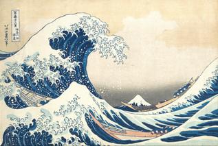 Kacusika Hokuszai – A nagy hullám Kanagavánál