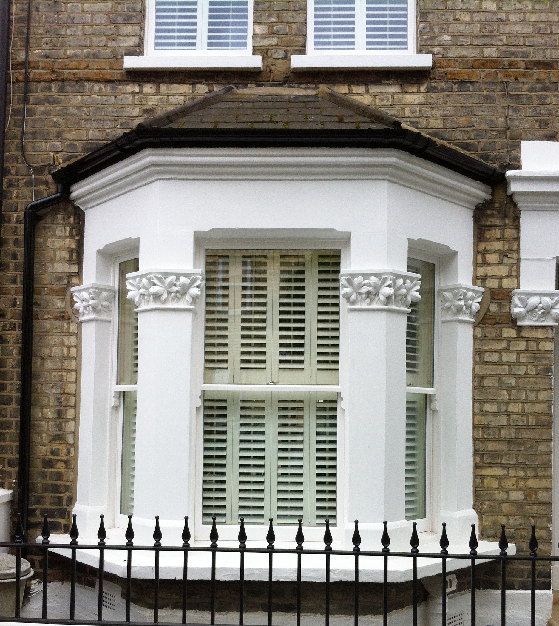Bay Window & Shutters