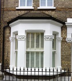 Bay Window & Shutters