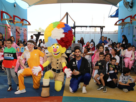 fun day organised by global village at senses center