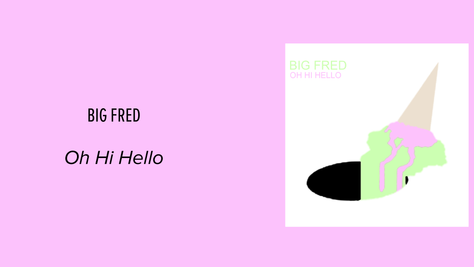 Big Fred's Oh Hi Hello: Muddy Psych Rock's New Face