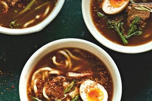Ramen soupe Japonaise