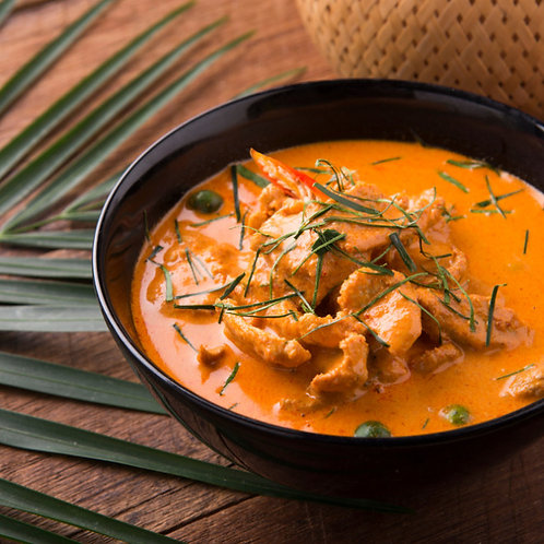 Poulet panang curry coco