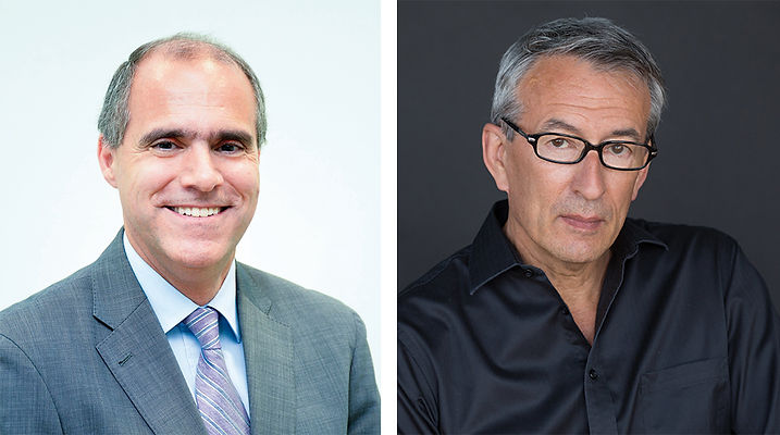Carlos Galmarini MD PhD and Paul Clayton