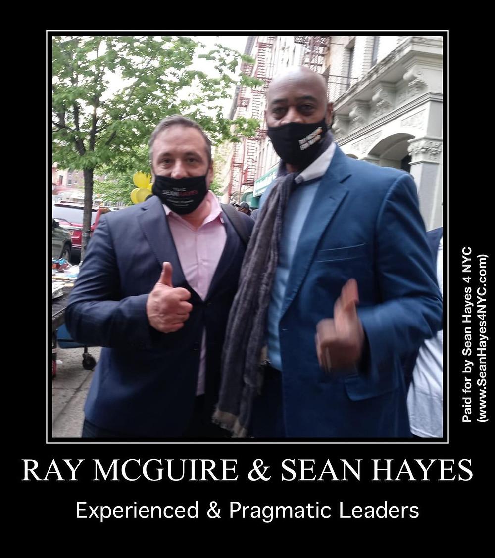 Sean Hayes & Ray McGuire
