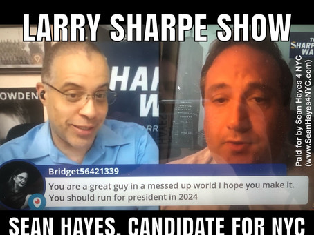 Sean Hayes on the Larry Sharpe Show