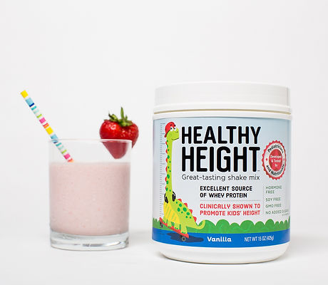 HealthyHeight - high protein shake for k