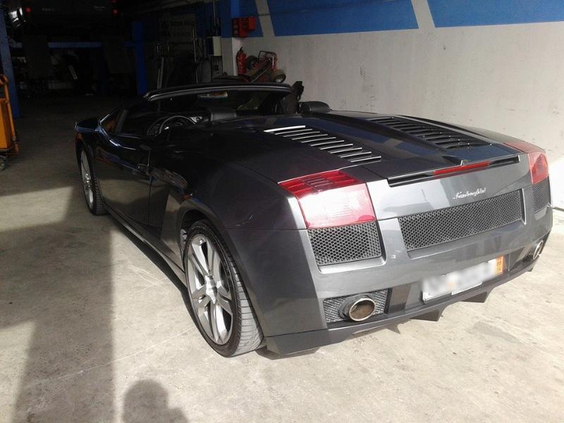 Lamborghini Werkstatt Mallmann
