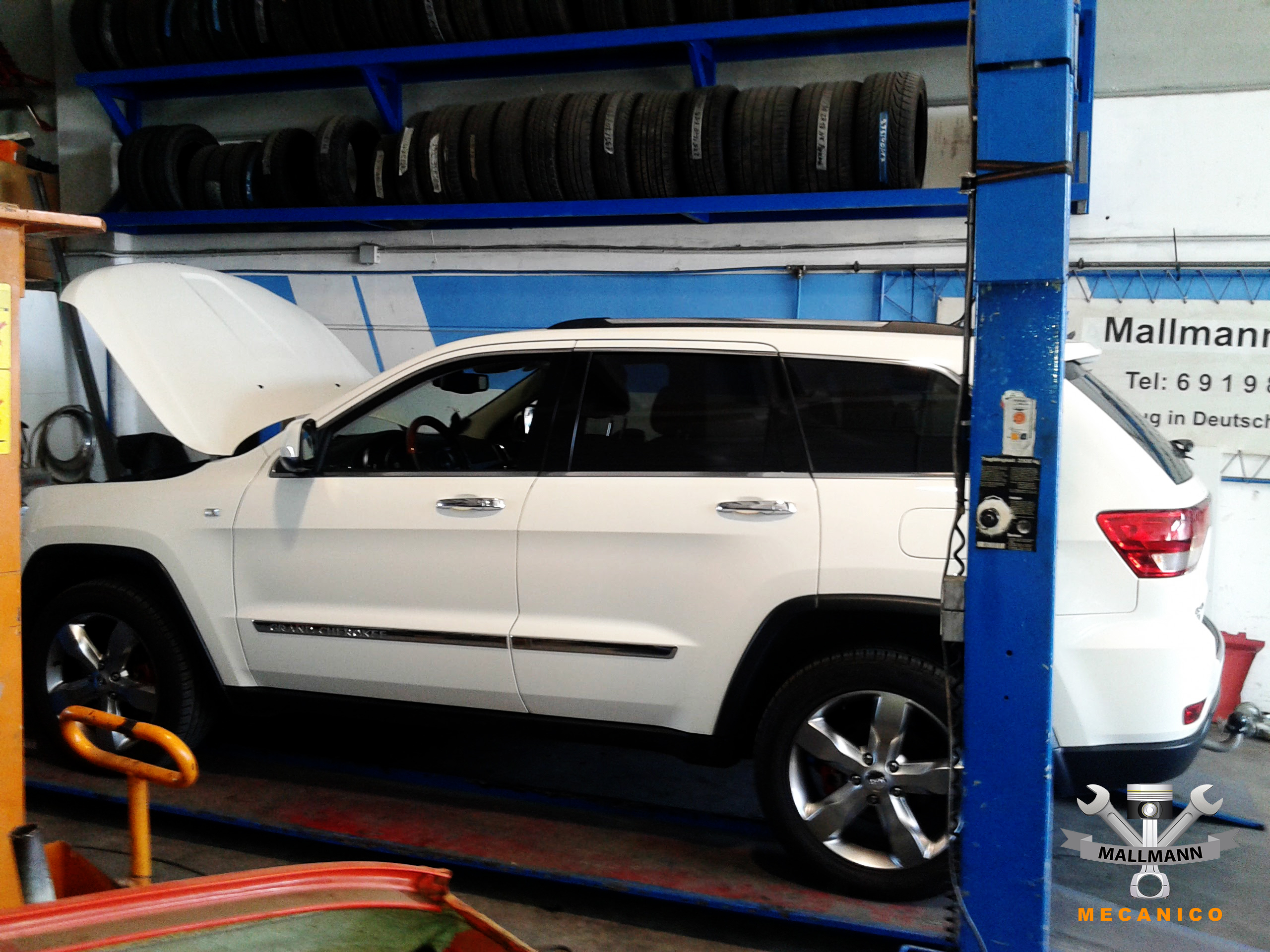 Jeep Werkstatt Mallorca