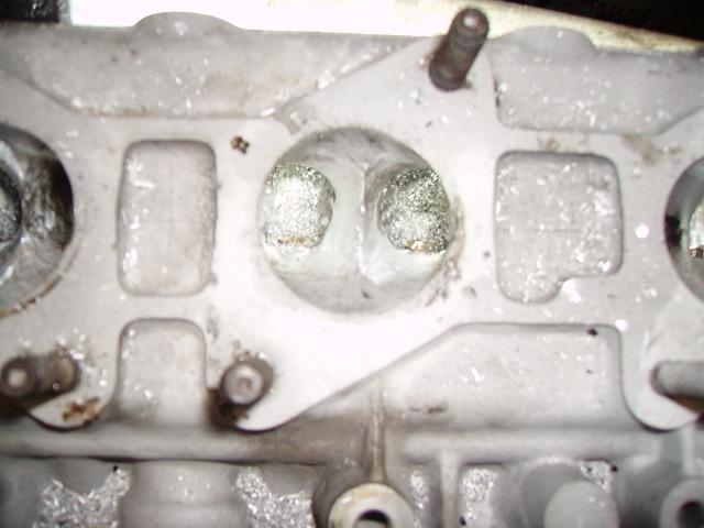 Golf 1 Motor Leistungssteigerung  Zylinderkopf
