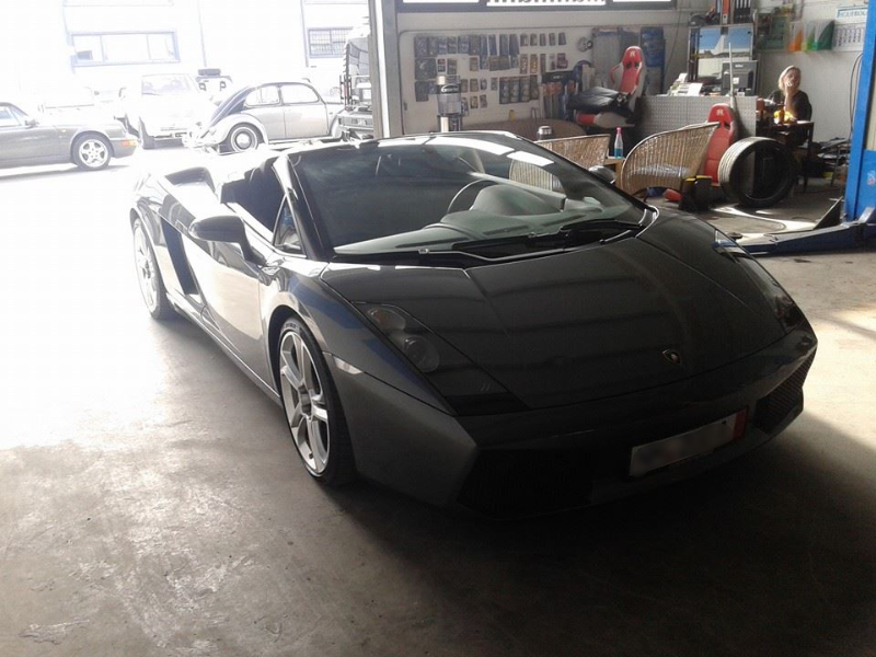 Lamborghini Service Werkstatt