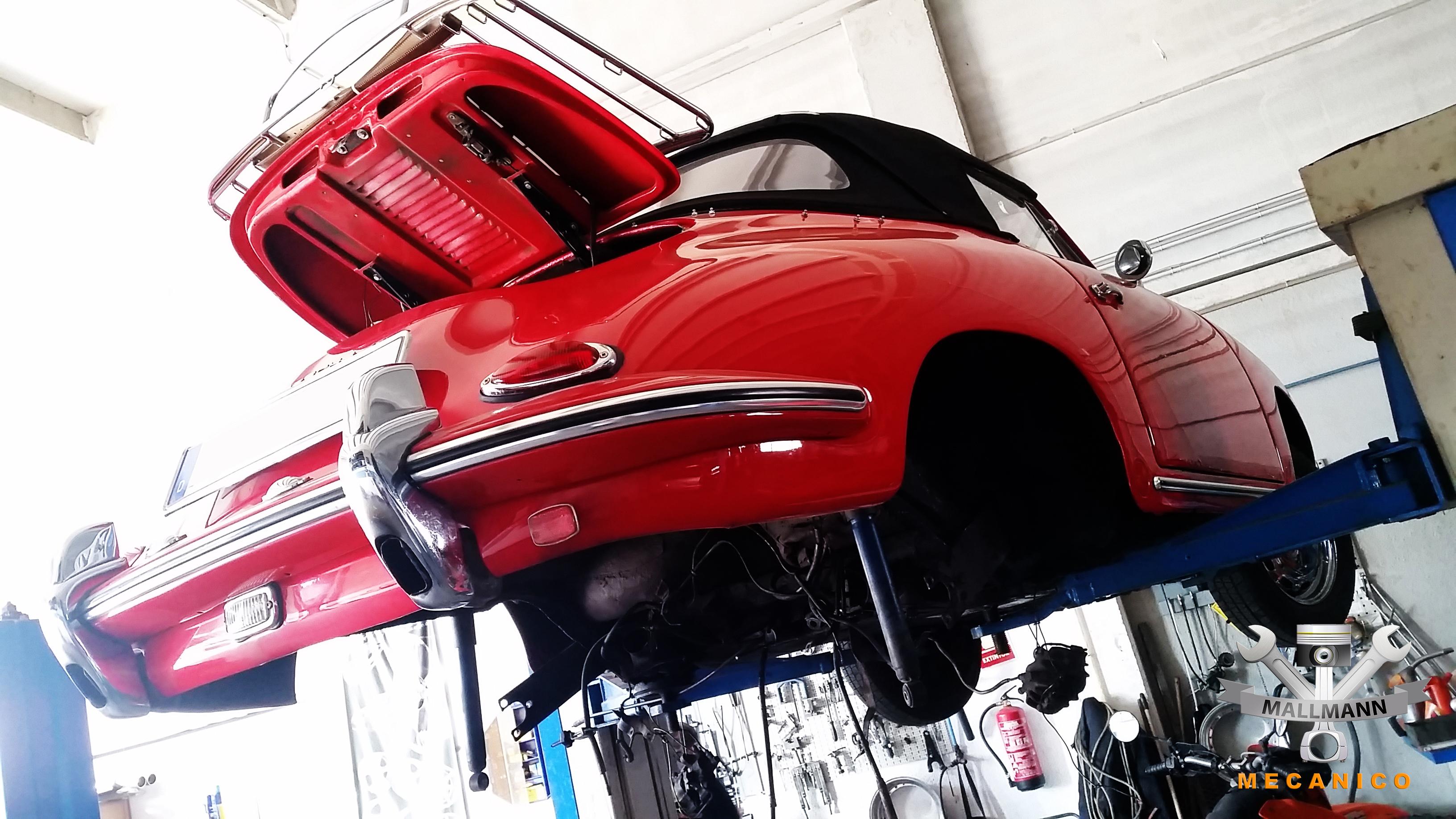 Porsche Mallorca Werkstatt