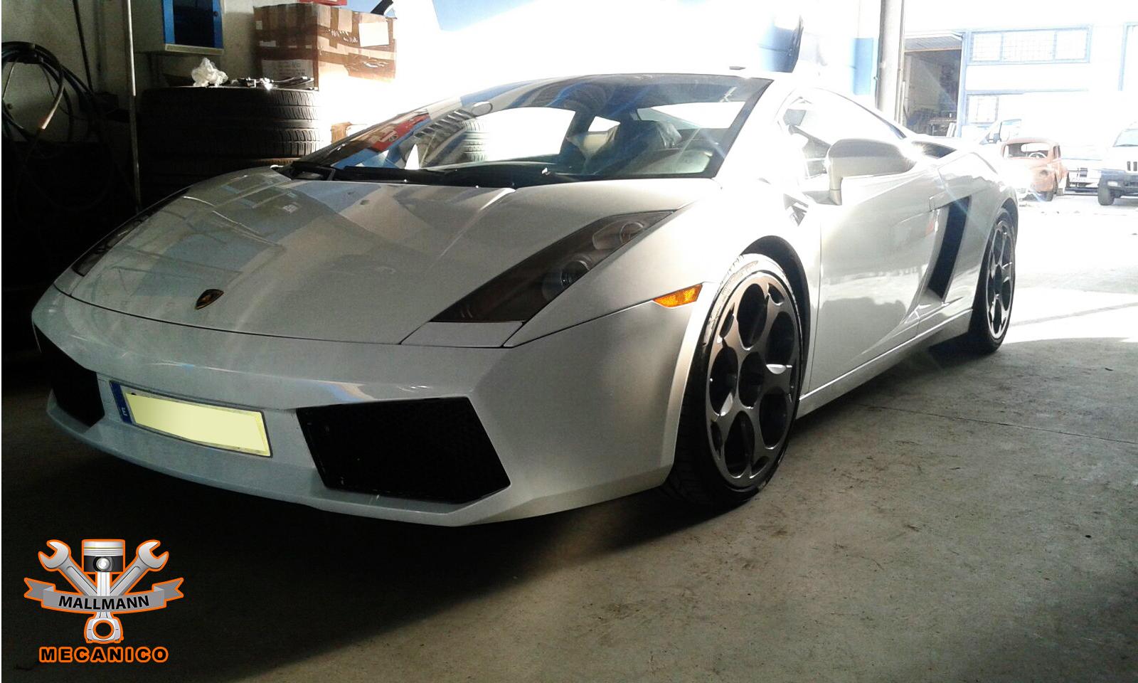Lamborghini Gallado Motoschaden