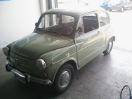 Oldtimer Restauration Seat 600