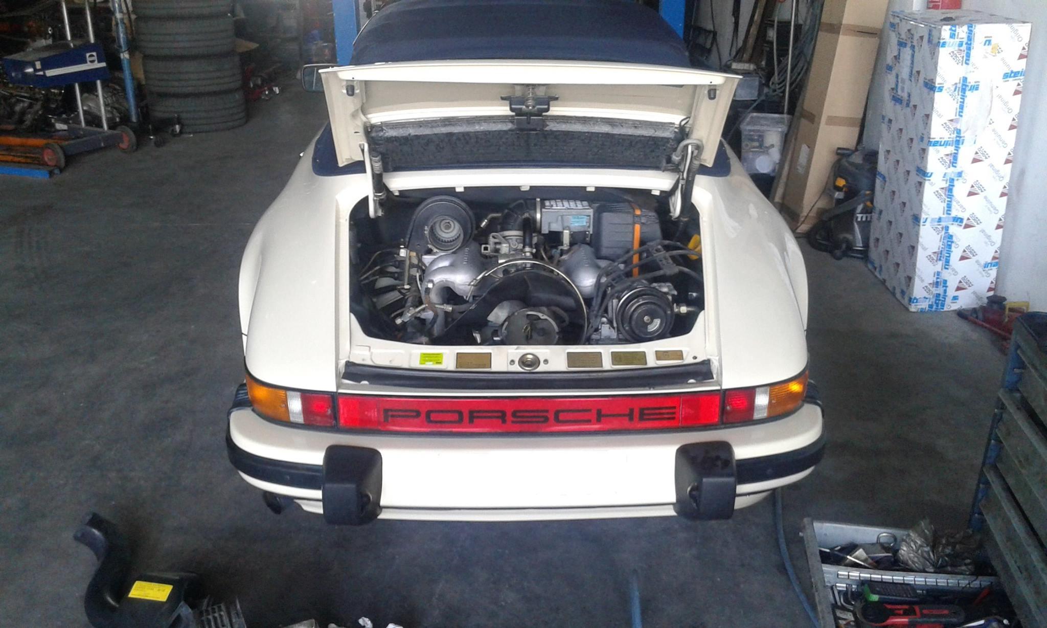 Porsche Carrera Reparatur