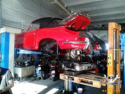 Porsche 911 Reparatur