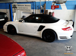 Porsche 911 Turbo Weiss