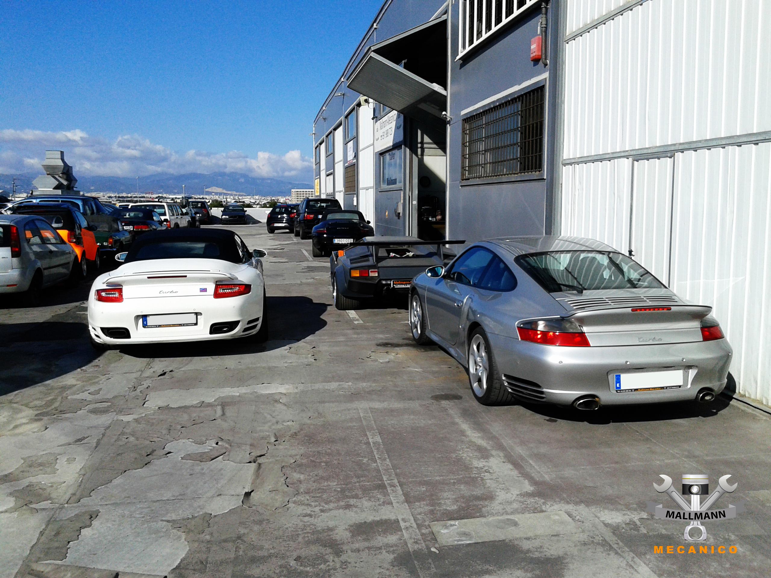 Porsche 911 Turbo Mallorca