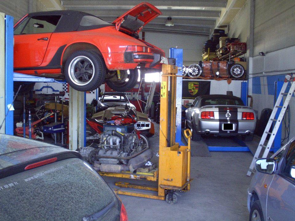 Porsche Motorüberholung