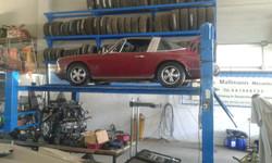 Porsche Reparatur 911 Targa