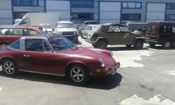 Porsche 911 Cabrio Oldtimer