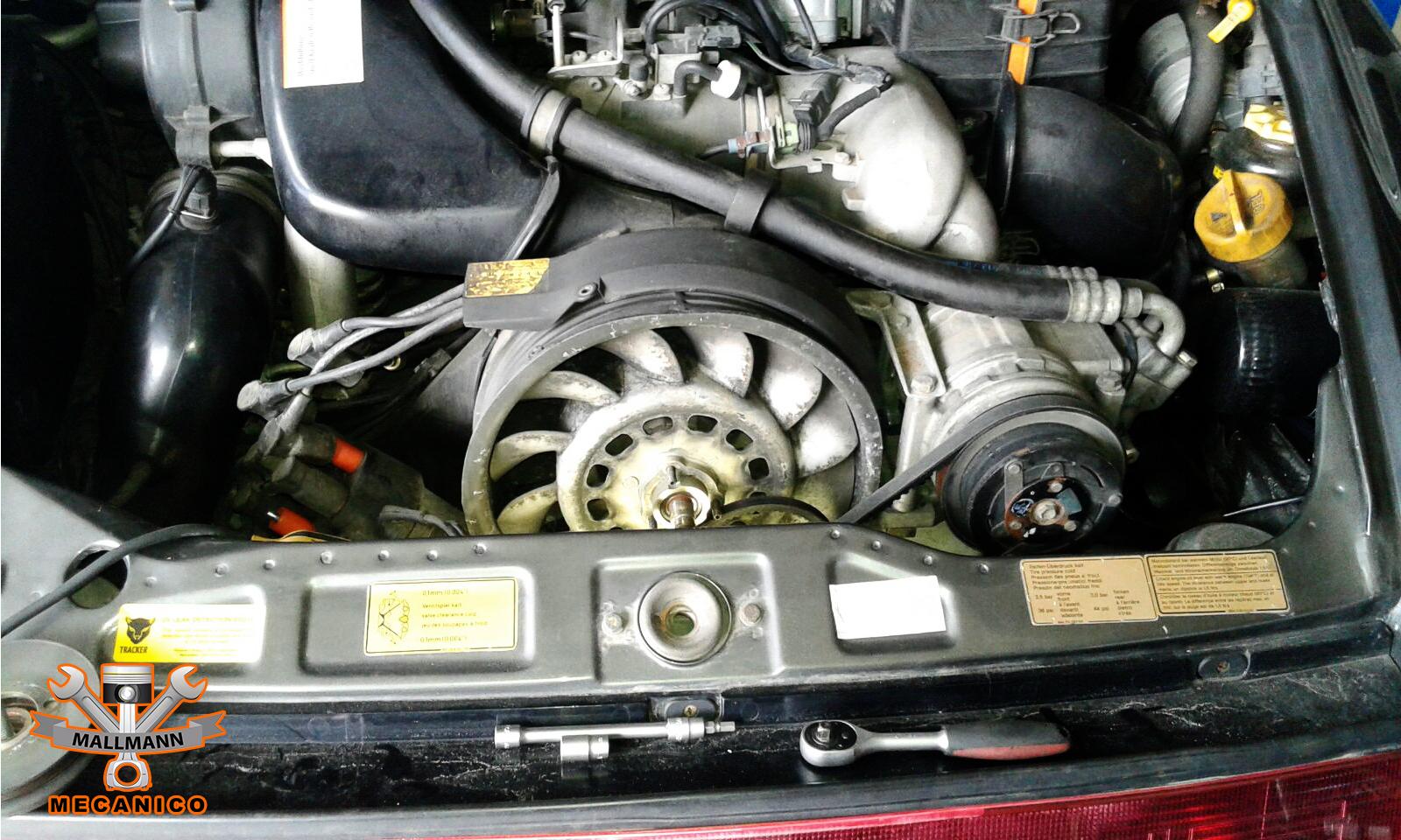 Porsche Reparatur Lichtmaschiene