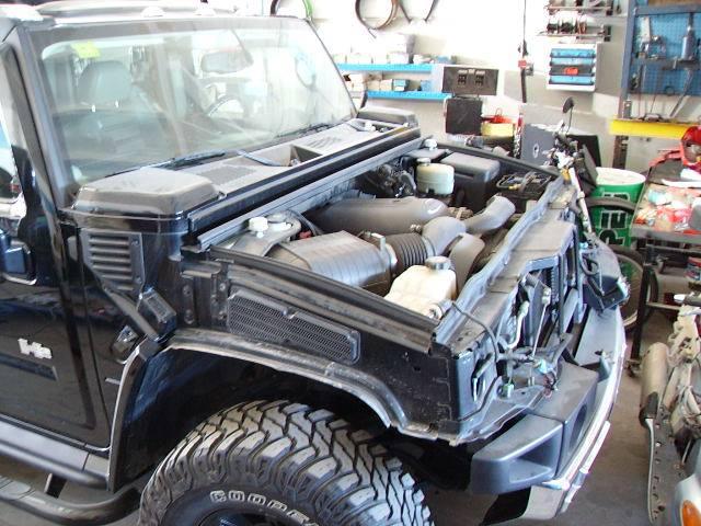 Hummer H2 Motorschaden