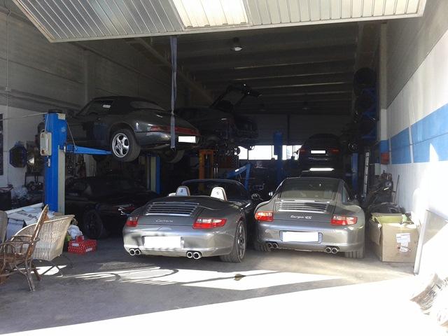 Porsche Reparatur auf Mallorca
