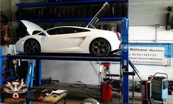 Lamborghini Besuch in der Werkstatt
