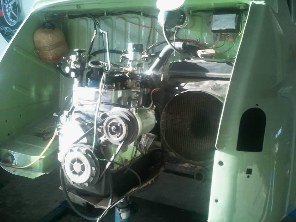 Motor Instandsetzung Seat 600