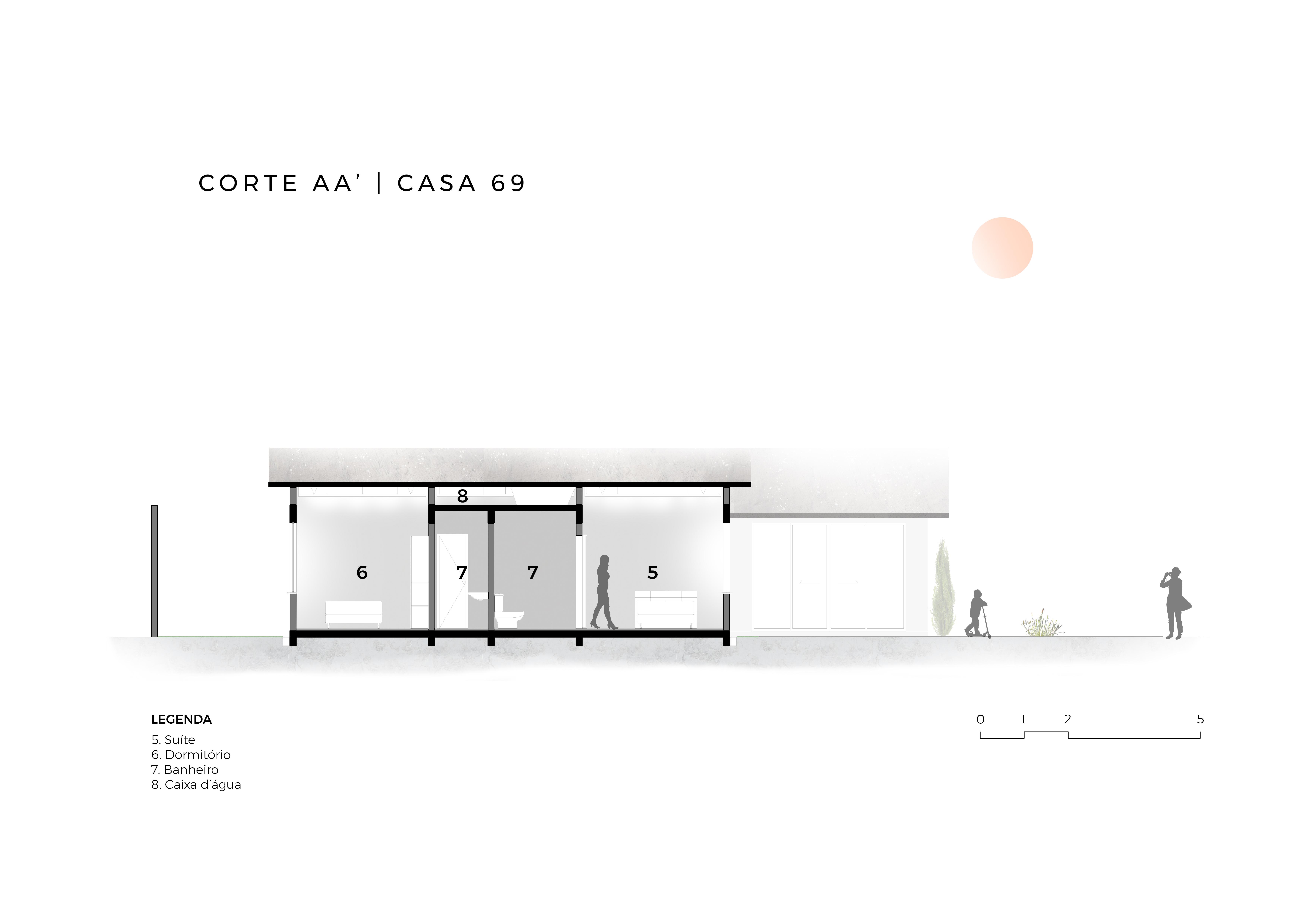 CASA69 - Corte AA'