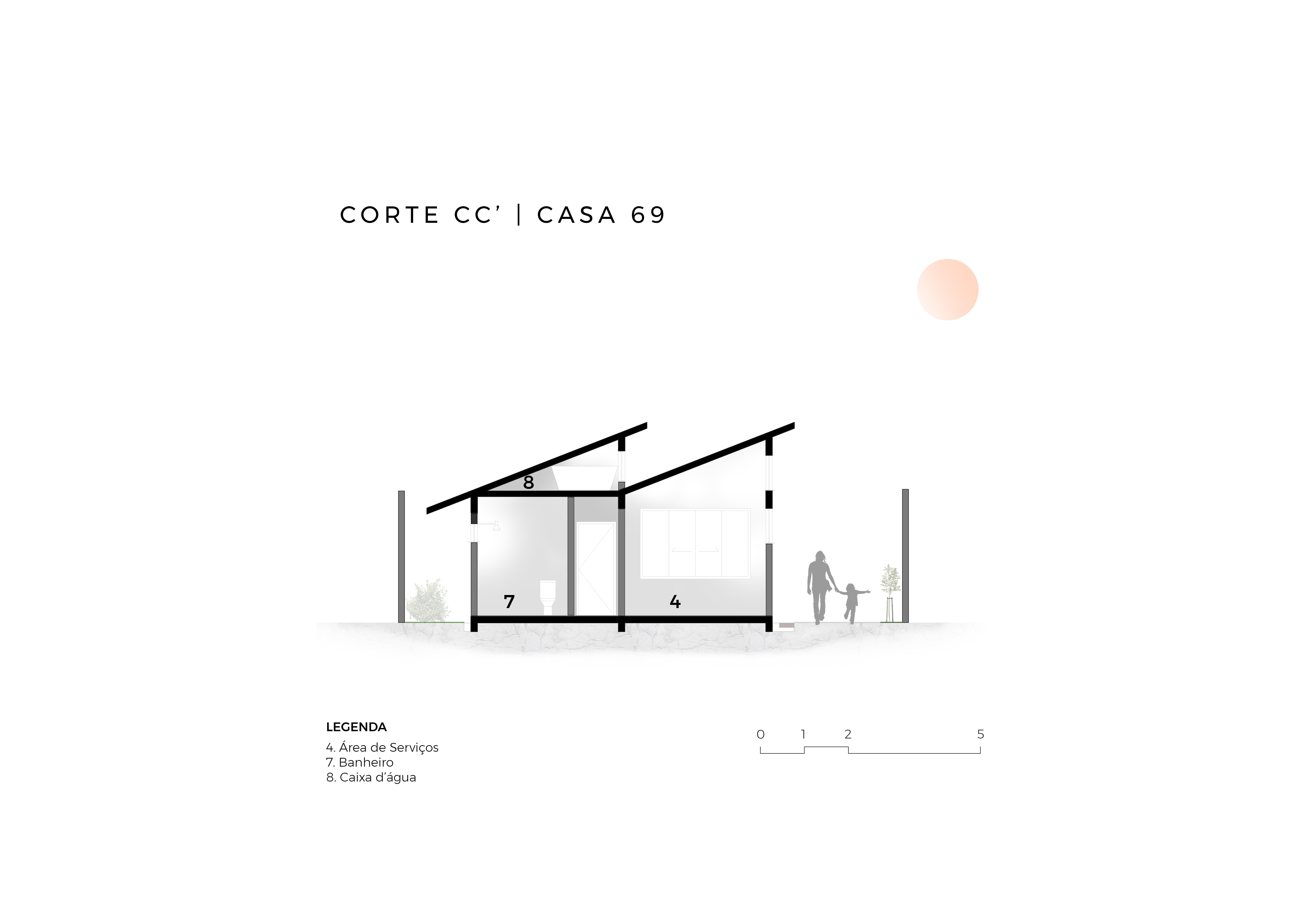 CASA69 - Corte CC'
