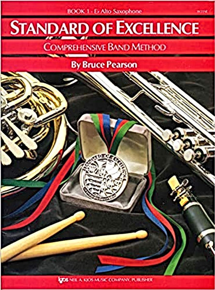 Standard of Excellence Book 1 - Alto Saxophone