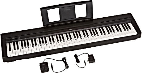 Yamaha P71 Digital Piano, 88 Keys (Weighted)