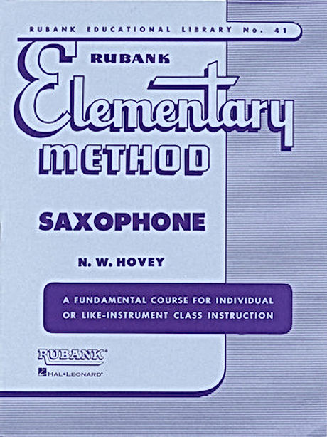Rubank Elementary Method for Saxophone