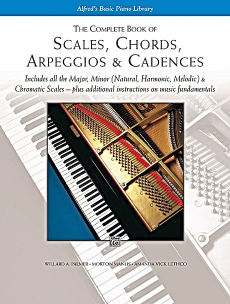 Alfred's Complete Book of Scales, Chords, Arpeggios & Cadences