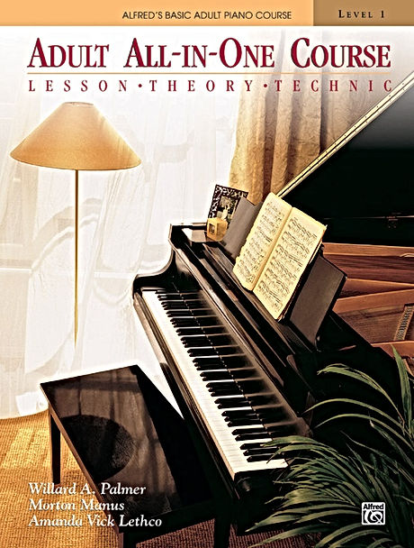 Alfred's Adult Piano Course, Book 1