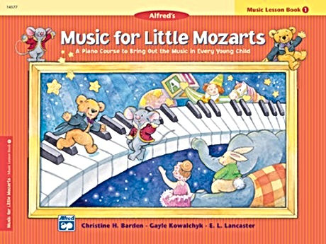 Alfred's Music for Little Mozarts, Book 1