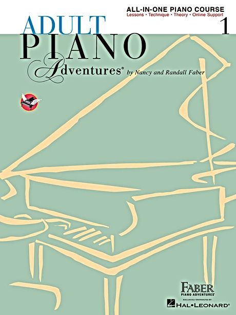 Faber's Adult Piano Adventures, Book 1