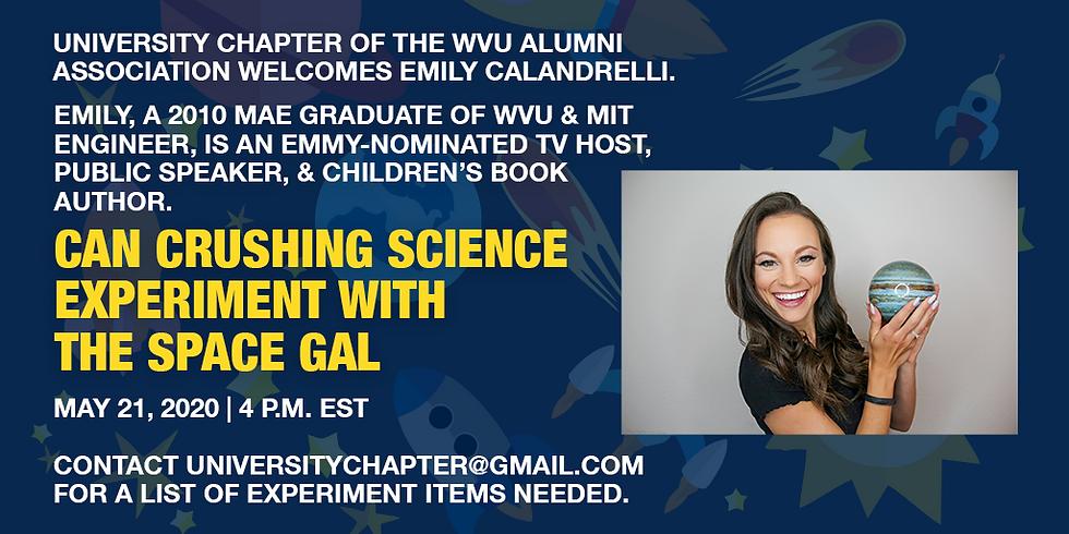 Emily Calandrelli Facebook Live Science Experiment