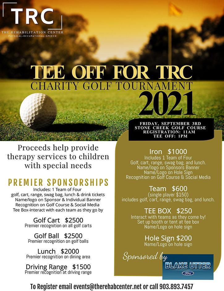 Copy of Golf Tournament Flyer Template (