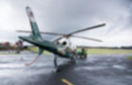 Dustin McElroy, UVA Pegasus Pilot, helps prepare N901WM for Take Off in Charlottesville VA