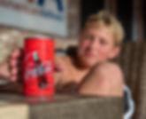 Refreshing Coca-Cola 35mm hidden camera